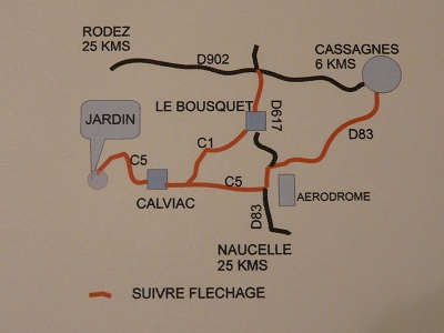 PHOTO DU PLAN D`ACCES